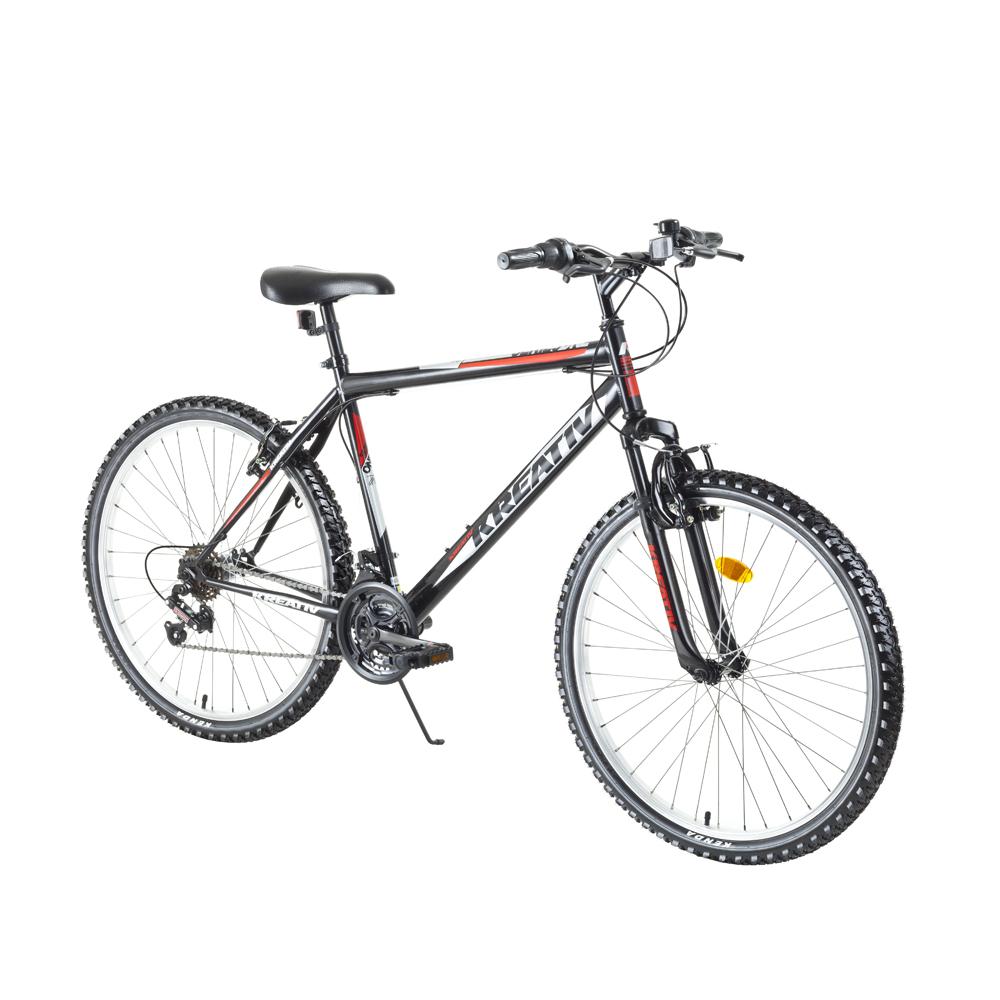 """Horský bicykel Kreativ 2603 26"""" - model 2018 Black - Záruka 10 rokov"""