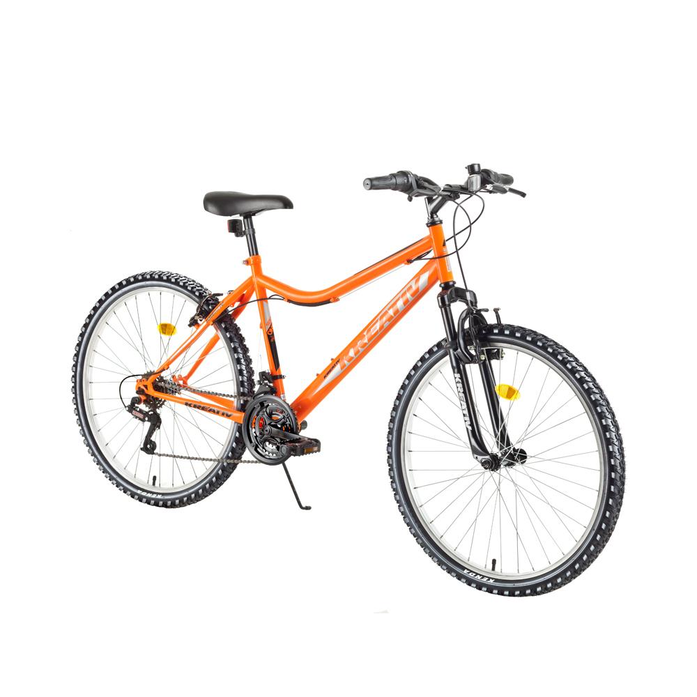 "Dámsky horský bicykel Kreativ 2604 26"" - model 2018 Orange - Záruka 10 rokov"