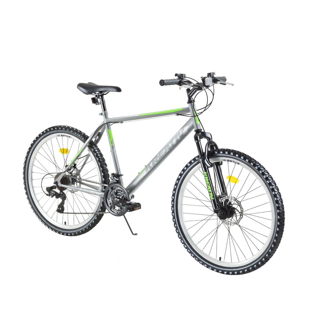 """Horský bicykel Kreativ 2605 26"""" - model 2018 Silver - Záruka 10 rokov"""