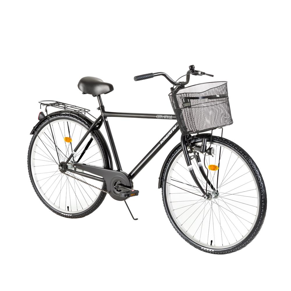 Trekingový bicykel Kreativ City Series 2811 - model 2018 Black - Záruka 10 rokov