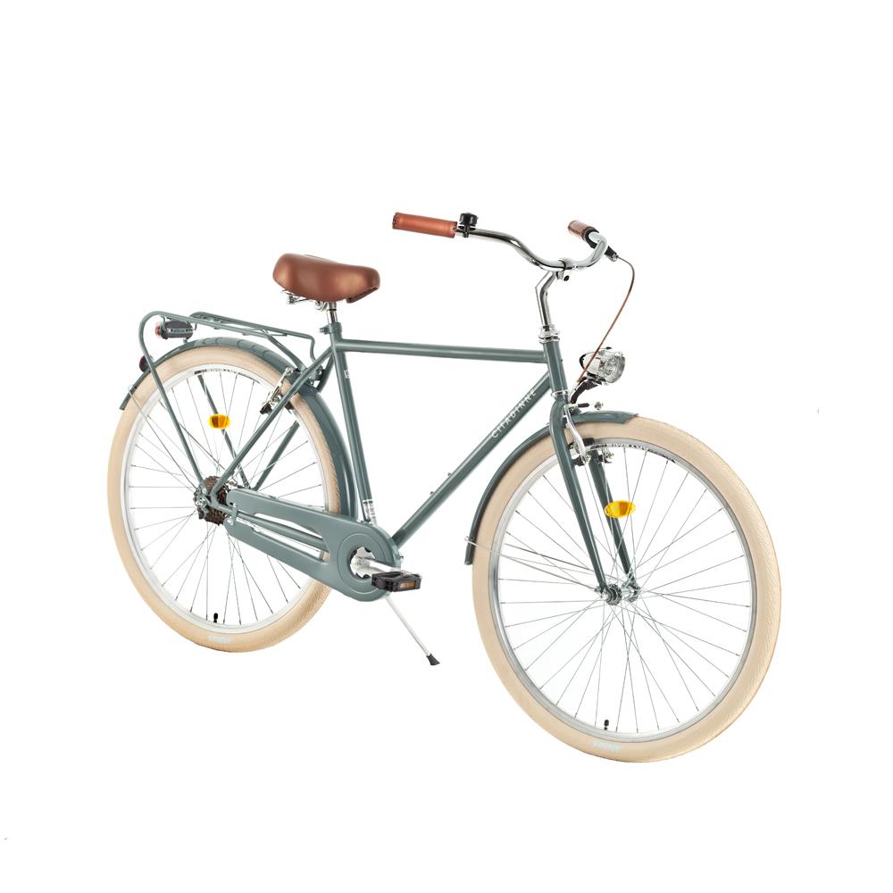 "Mestský bicykel DHS Citadinne 2831 28"" - model 2018 Grey - 21"" - Záruka 10 rokov"