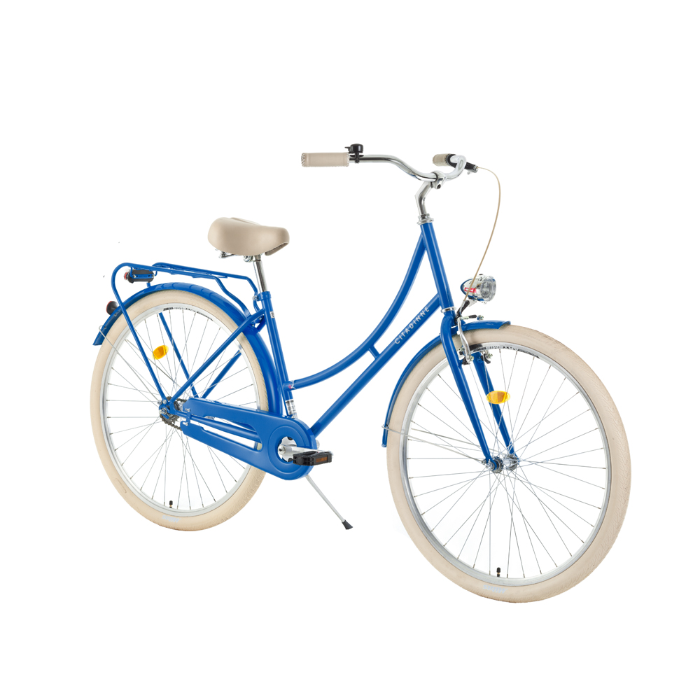 "Mestský bicykel DHS Citadinne 2832 28"" - model 2019 blue - 20"" - Záruka 10 rokov"