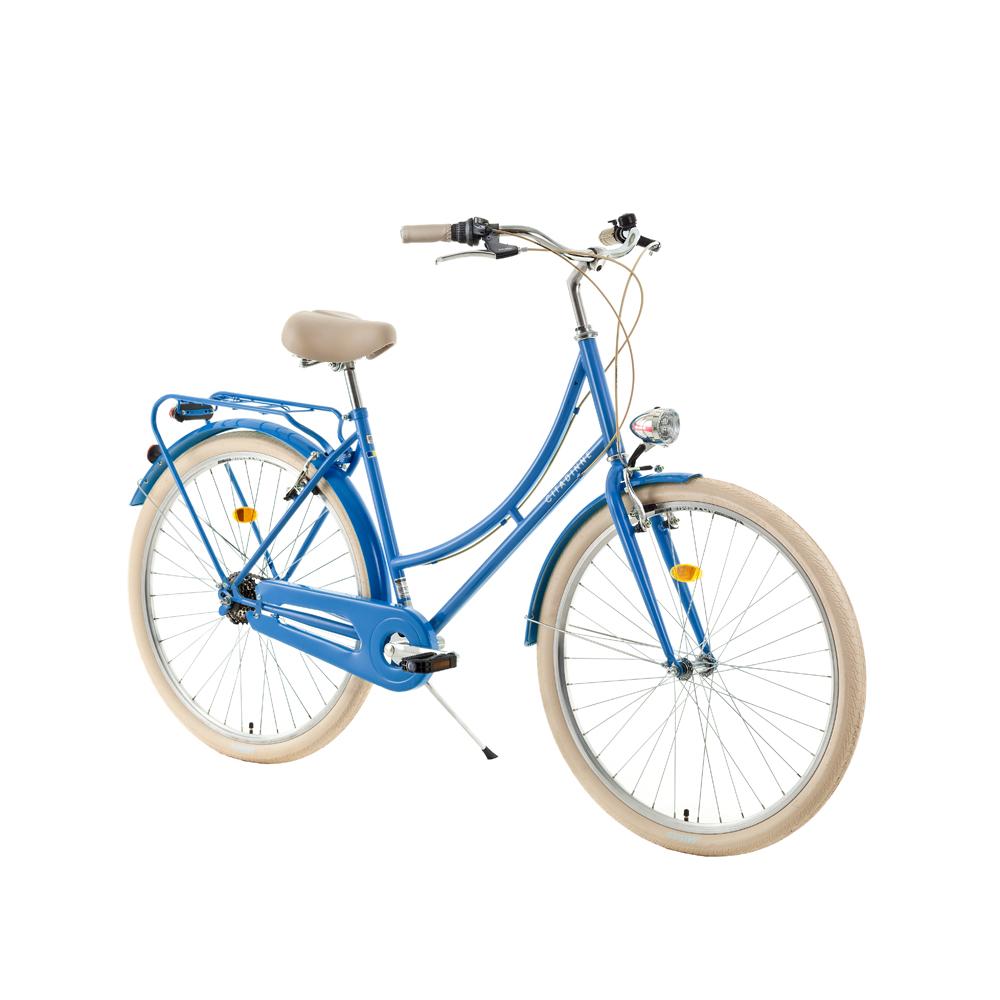 "Mestský bicykel DHS Citadinne 2636 26"" - model 2018 blue - 18"" - Záruka 10 rokov"