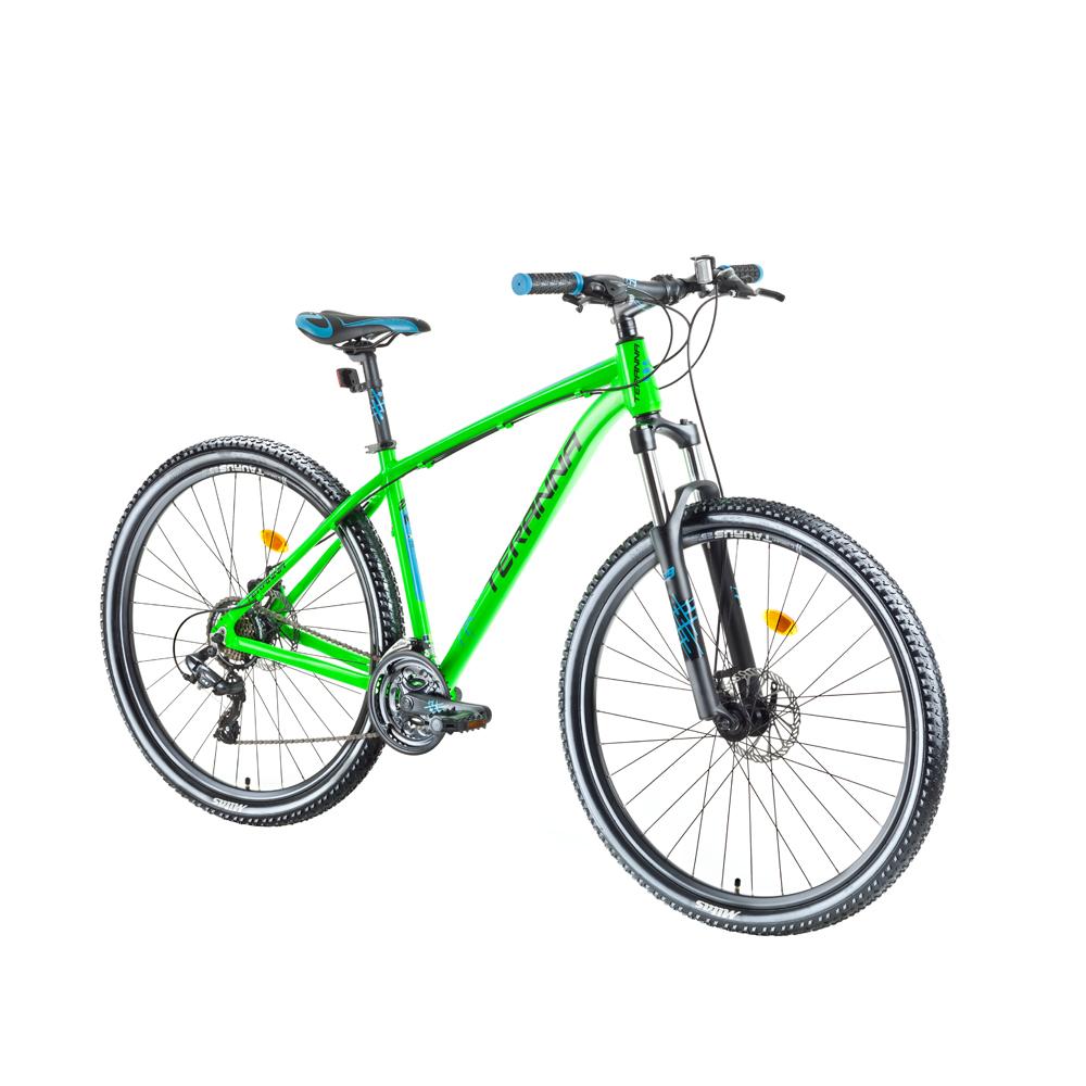 "Horský bicykel DHS Teranna 2925 29"" - model 2018 Green - 18"""
