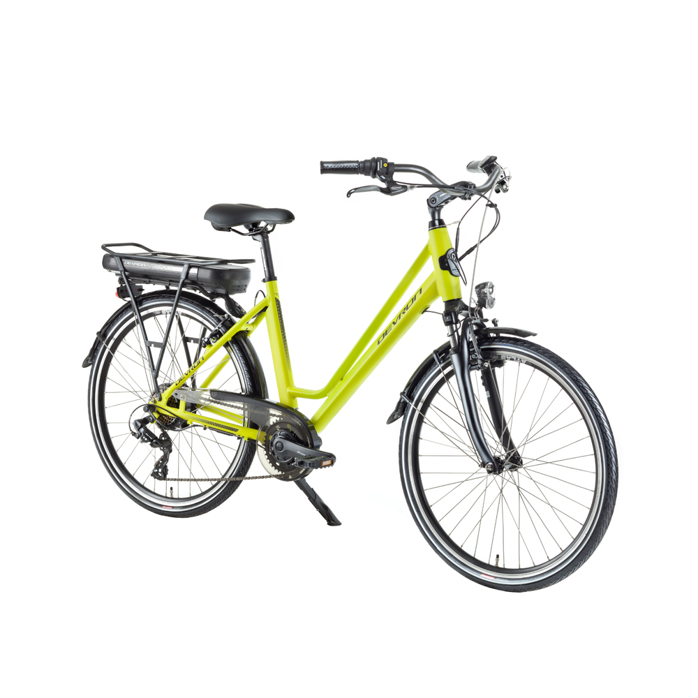 "Mestský elektrobicykel Devron 26122 - model 2018 Yellow - 18"" - Záruka 10 rokov"