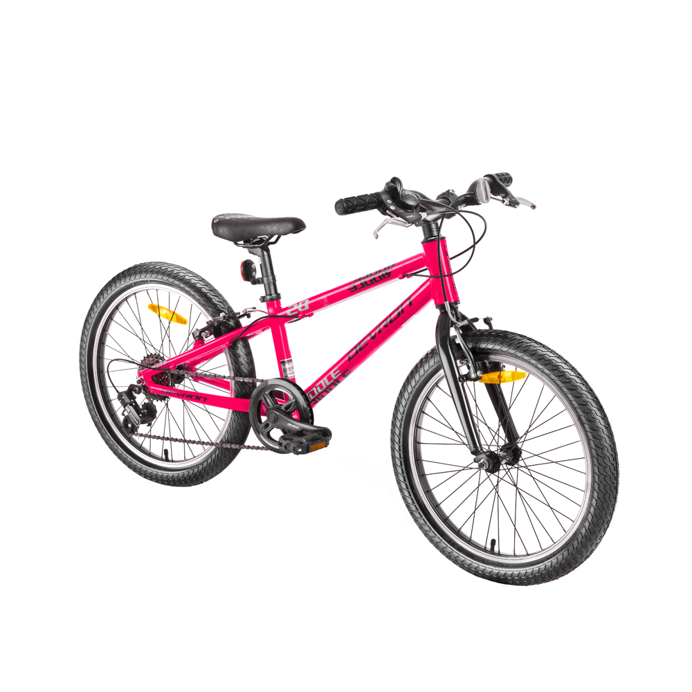 "Detský bicykel Devron Riddle Kids 1.2 20"" - model 2018 Pink - Záruka 10 rokov"