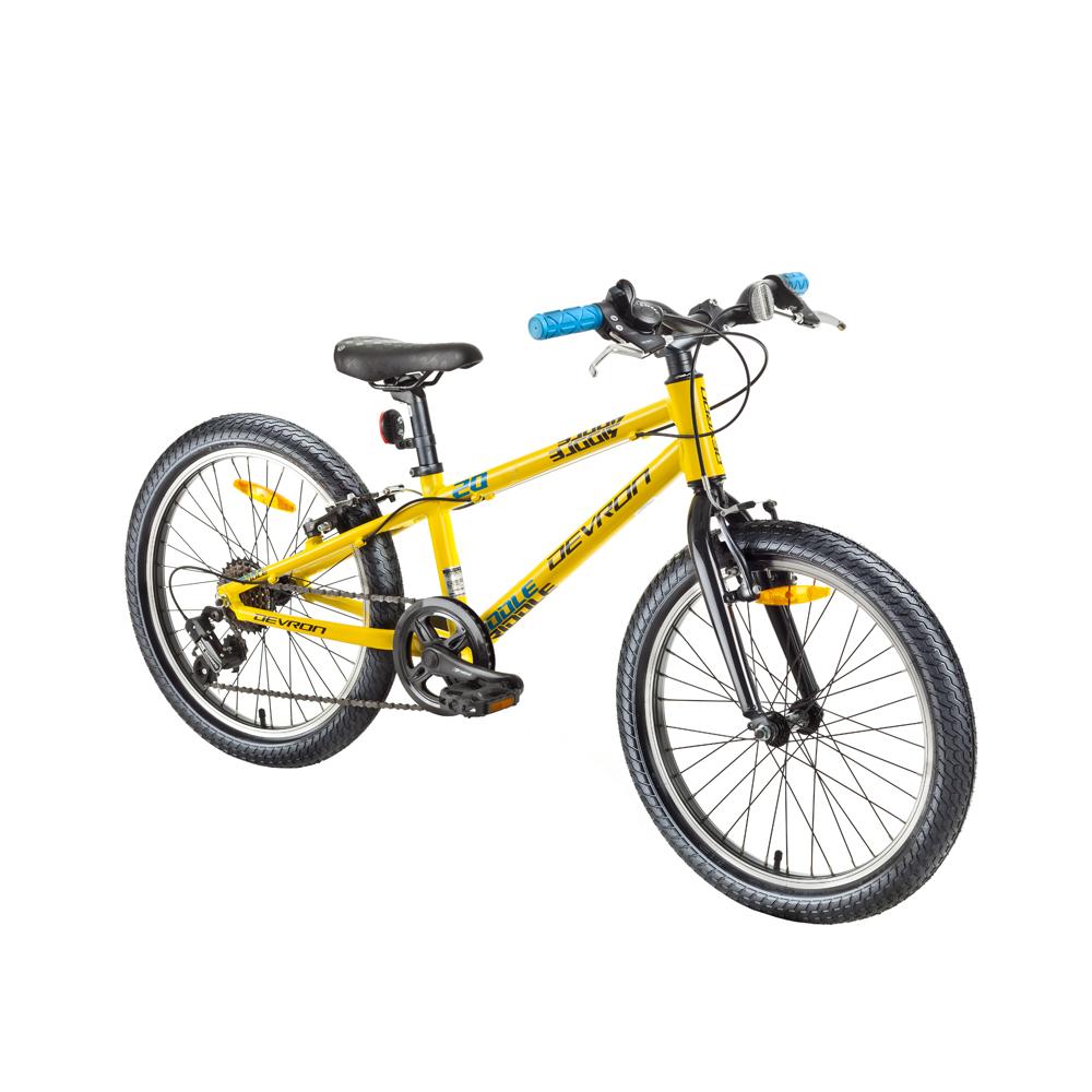 """Detský bicykel Devron Riddle Kids 1.2 20"""" - model 2018 Yellow - Záruka 10 rokov"""