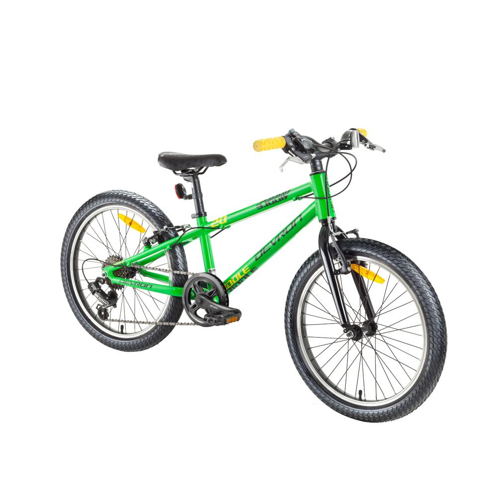 """Detský bicykel Devron Riddle Kids 1.2 20"""" - model 2018 Green - Záruka 10 rokov"""
