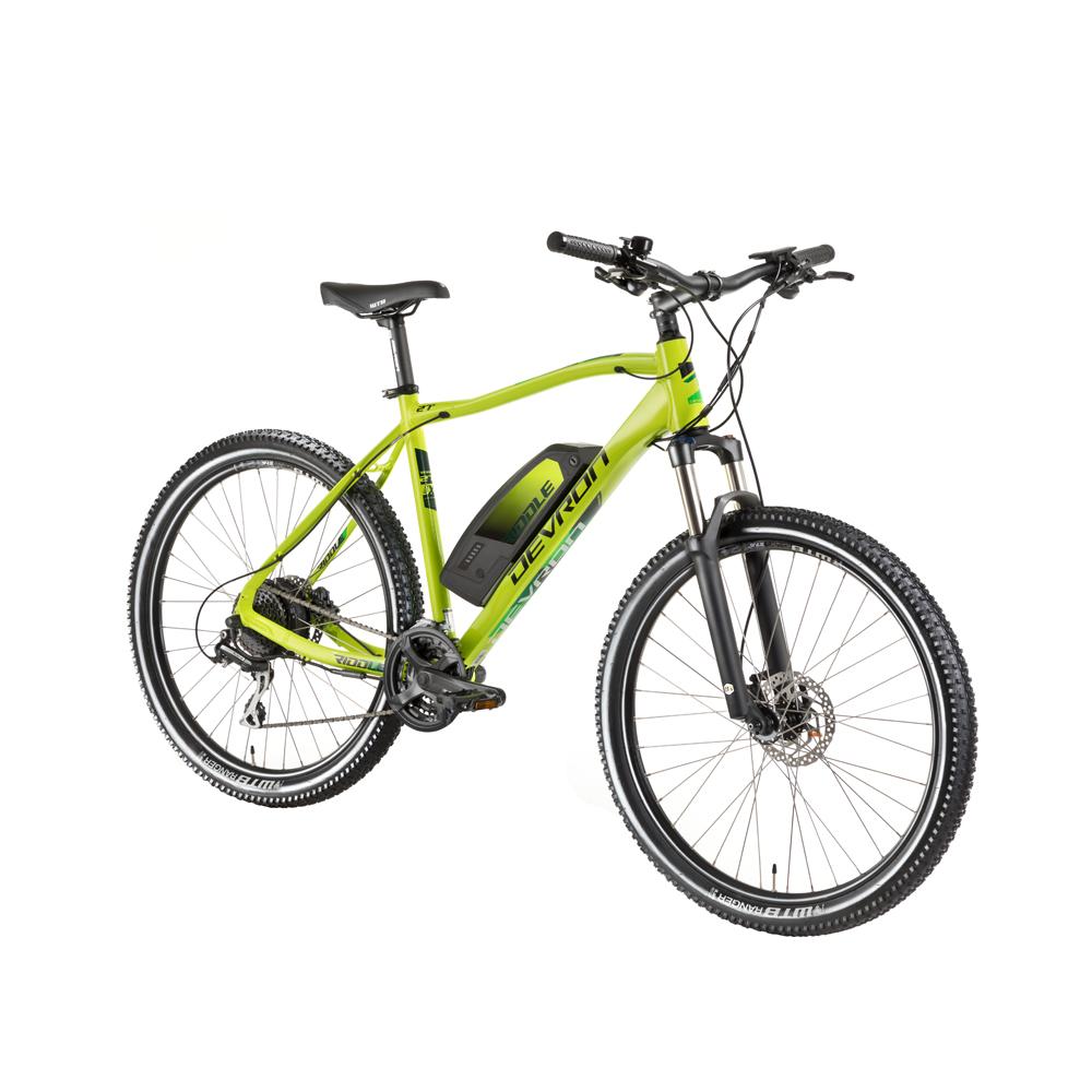 "Horský elektrobicykel Devron Riddle M1.7 27,5"" - model 2018 neon - 19,5"" - Záruka 10 rokov"