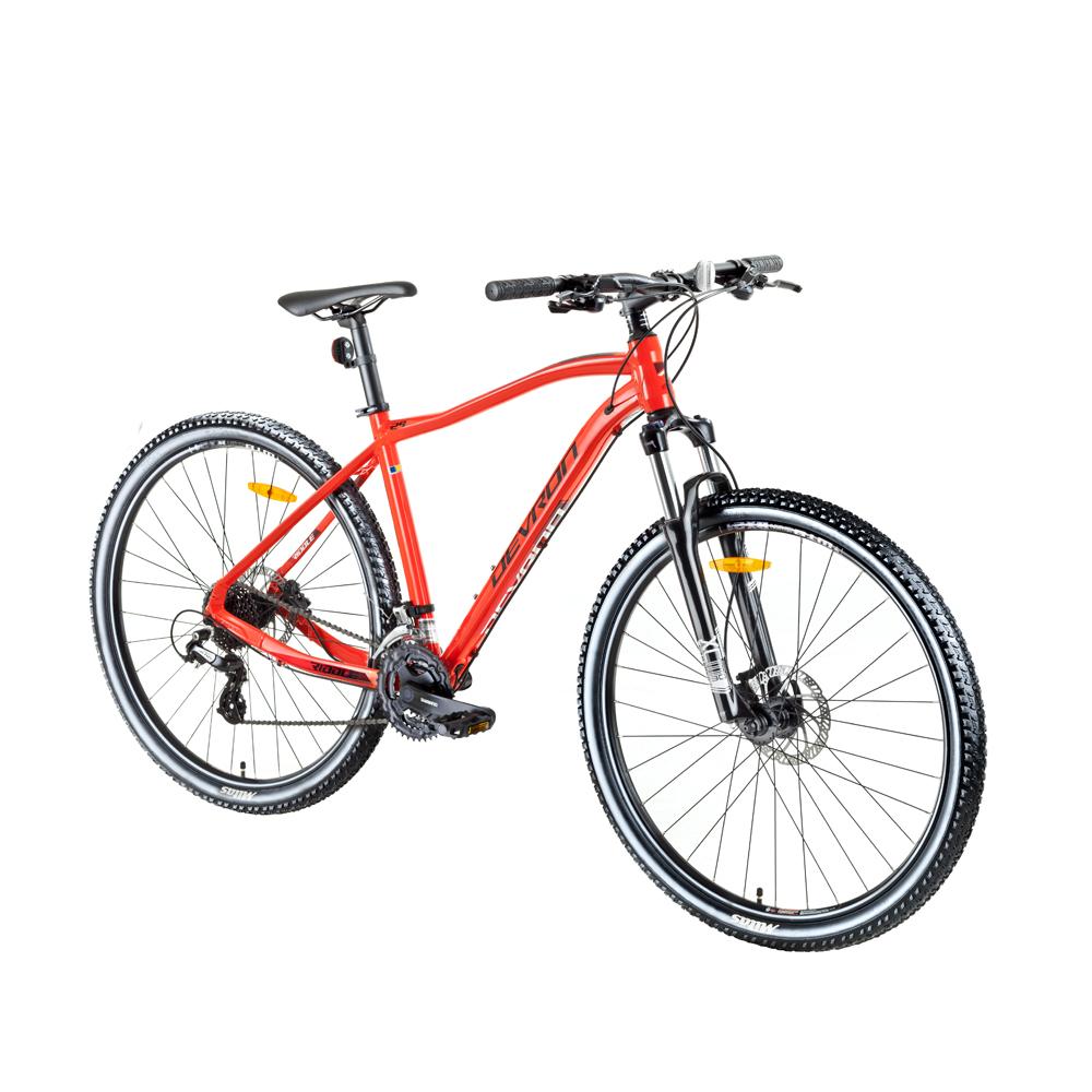 "Horský bicykel Devron Riddle H1.7 27,5"" - model 2018 Red - 18"" - Záruka 10 rokov"