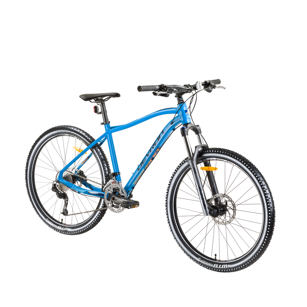 "Horský bicykel Devron Riddle H3.7 27,5"" - model 2018 blue - 18"" - Záruka 10 rokov"