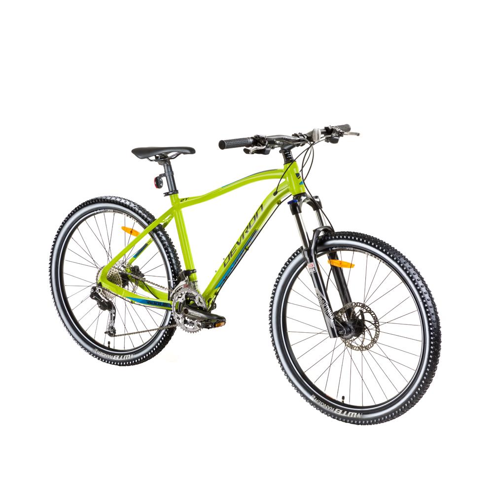 "Horský bicykel Devron Riddle H3.9 29"" - model 2018 Green - 18"" - Záruka 10 rokov"