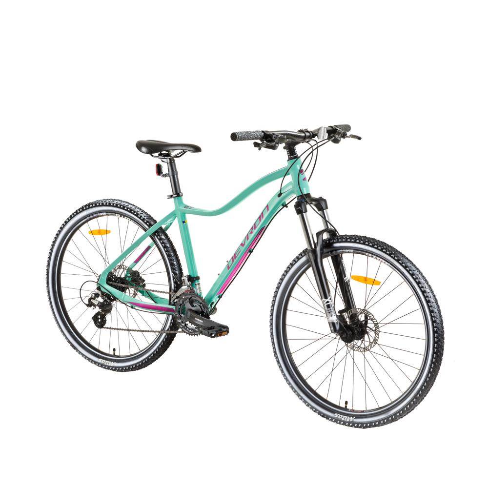 """Dámsky horský bicykel Devron Riddle Lady 1.9 29"""" - model 2018 blue - 18"""" - Záruka 10 rokov"""