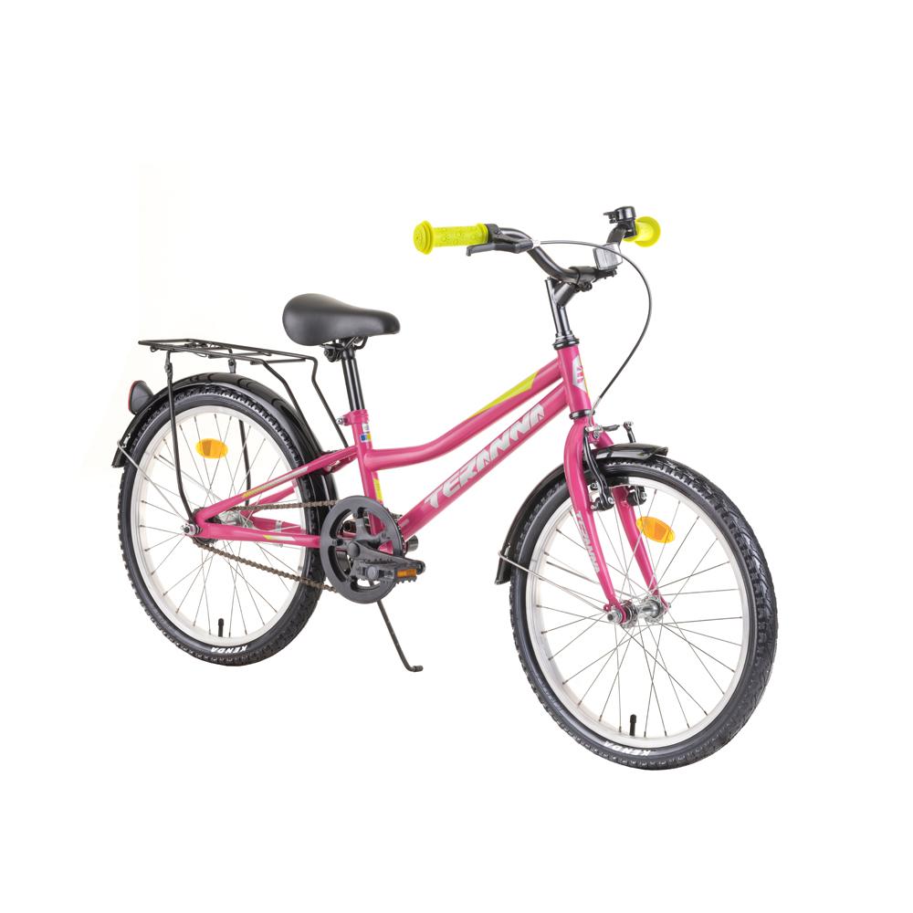 "Detský bicykel DHS Teranna 2002 20"" 4.0 Pink - Záruka 10 rokov"