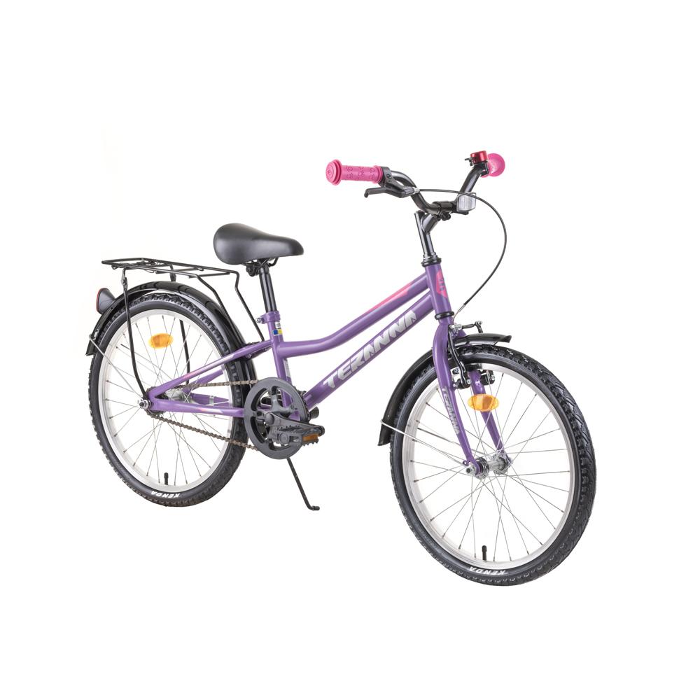 """Detský bicykel DHS Teranna 2002 20"""" - model 2019 Purple - Záruka 10 rokov"""