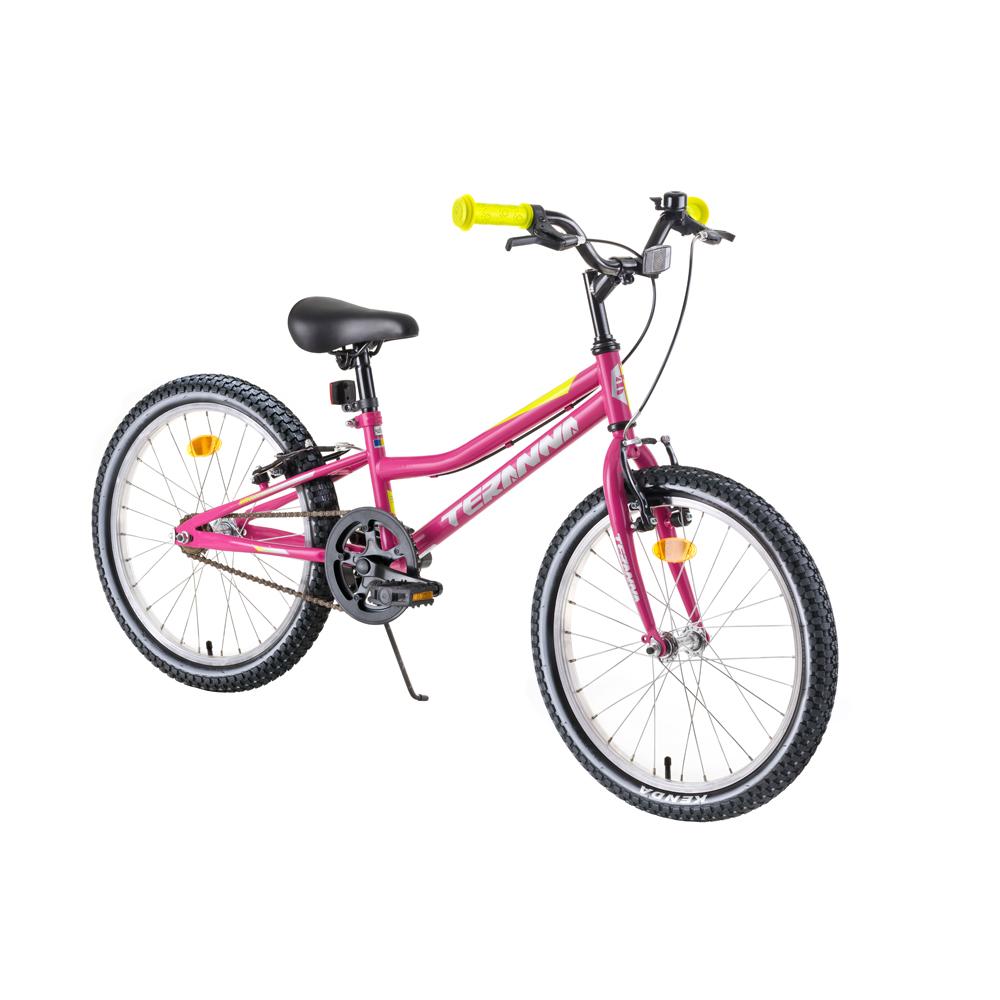 "Detský bicykel DHS Teranna 2004 20"" - model 2019 Pink - Záruka 10 rokov"