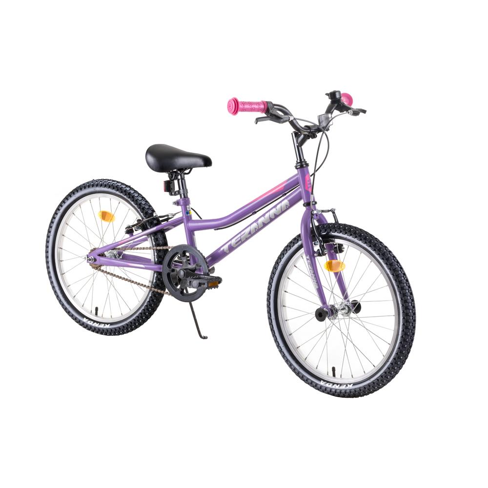 """Detský bicykel DHS Teranna 2004 20"""" - model 2019 Purple - Záruka 10 rokov"""