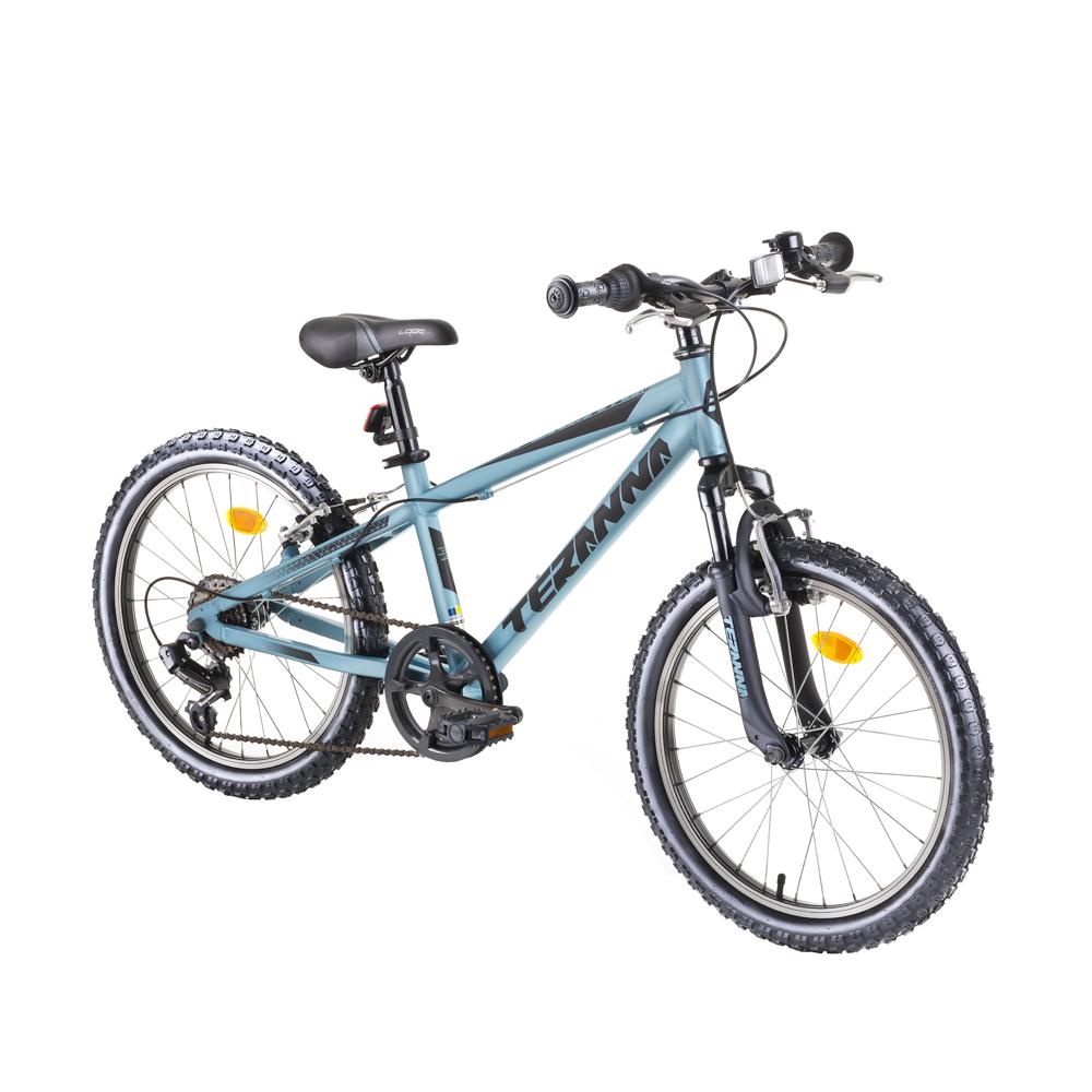 """Juniorský bicykel DHS Teranna 2423 24"""" - model 2019 blue - Záruka 10 rokov"""