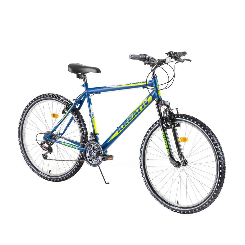 """Horský bicykel Kreativ 2603 26"""" - model 2019 blue - Záruka 10 rokov"""