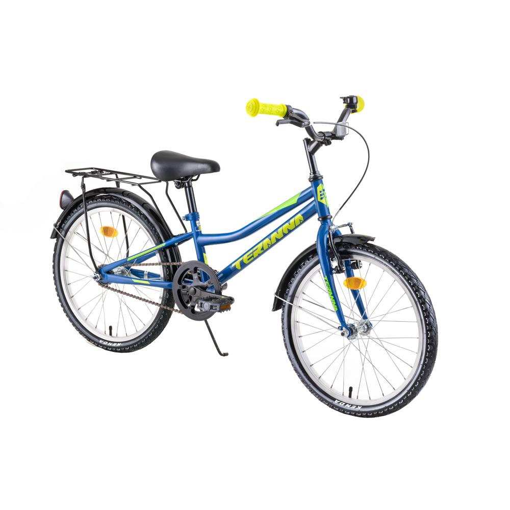 """Detský bicykel DHS Teranna 2001 20"""" 4.0 blue - Záruka 10 rokov"""