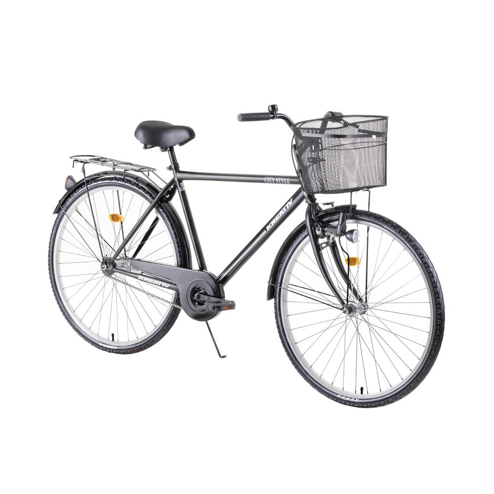 Mestský bicykel Kreativ City Series 2811 - model 2019 Black - Záruka 10 rokov