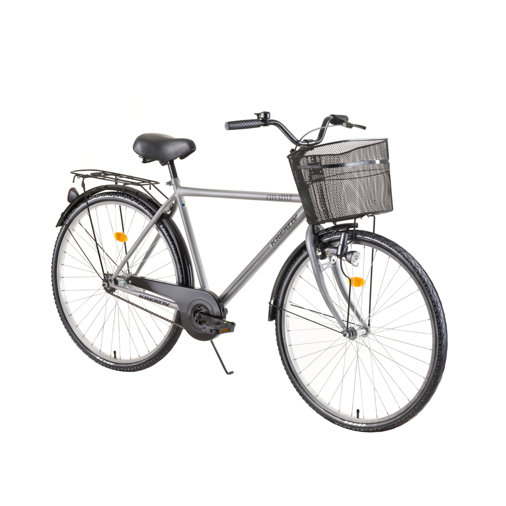 "Mestský bicykel Kreativ City Series 2811 28"" - model 2019 Grey - Záruka 10 rokov"