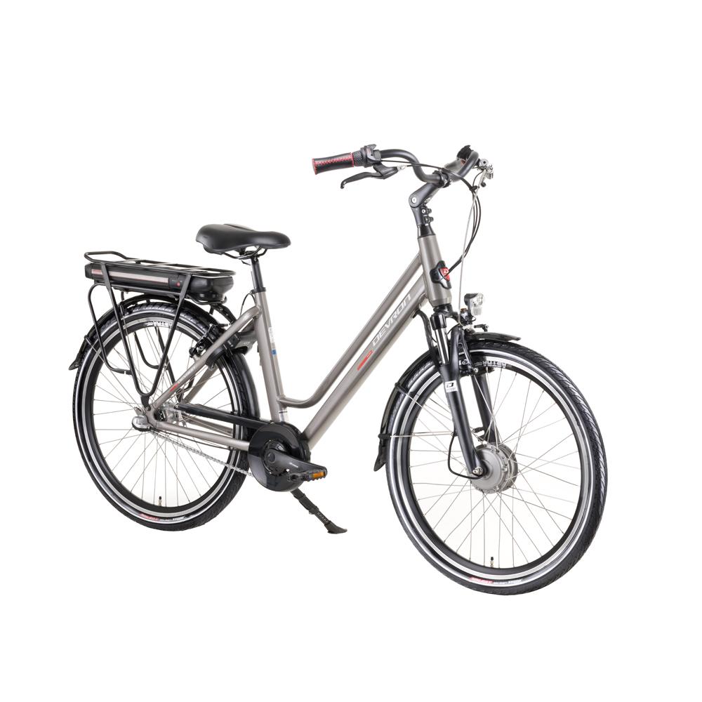 "Mestský elektrobicykel Devron 28122 4.0 Grey - 19,5"" - Záruka 10 rokov"