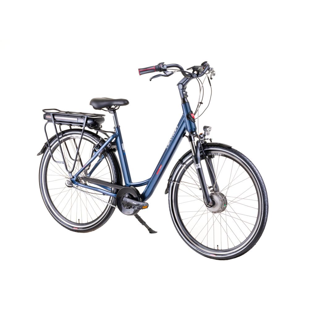 "Mestský elektrobicykel Devron 28124 28"" - model 2019 blue - 19,5"" - Záruka 10 rokov"