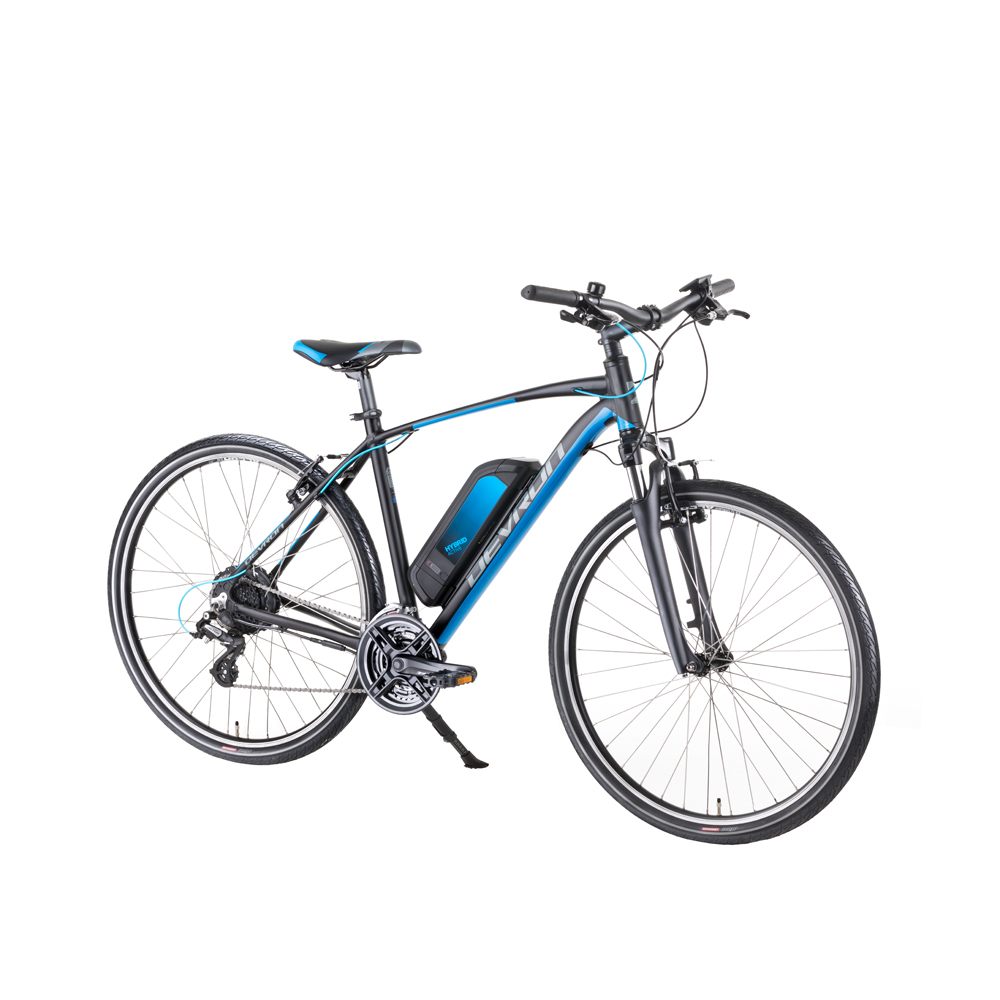"""Crossový elektrobicykel Devron 28161 28"""" - model 2019 Black - 19"""" - Záruka 10 rokov"""