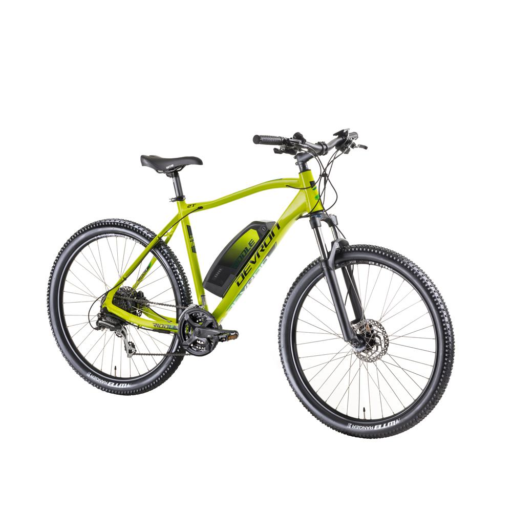 "Horský elektrobicykel Devron Riddle M1.7 27,5"" - model 2019 neon - 19,5"" - Záruka 10 rokov"