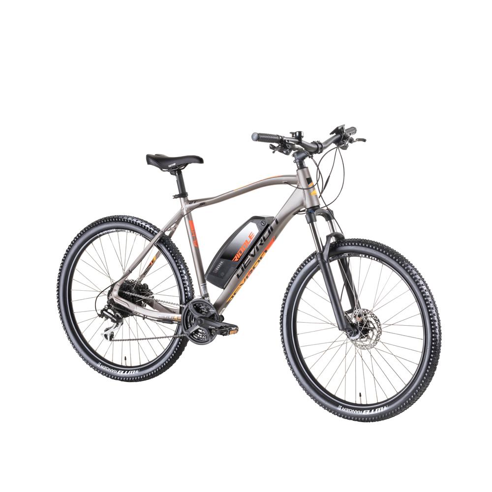 "Horský elektrobicykel Devron Riddle M1.7 27,5"" - model 2019 Grey Matt - 19,5"" - Záruka 10 rokov"