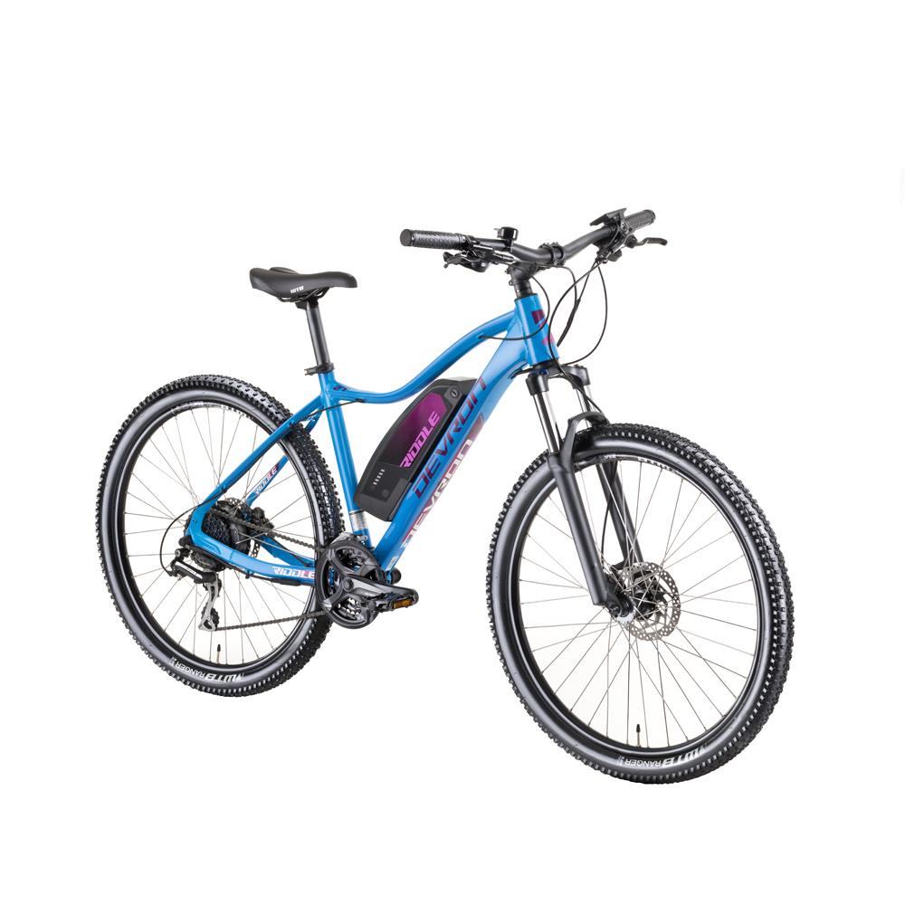 "Dámsky horský elektrobicykel Devron Riddle W1.7 27,5"" - model 2019 blue - 18"" - Záruka 10 rokov"