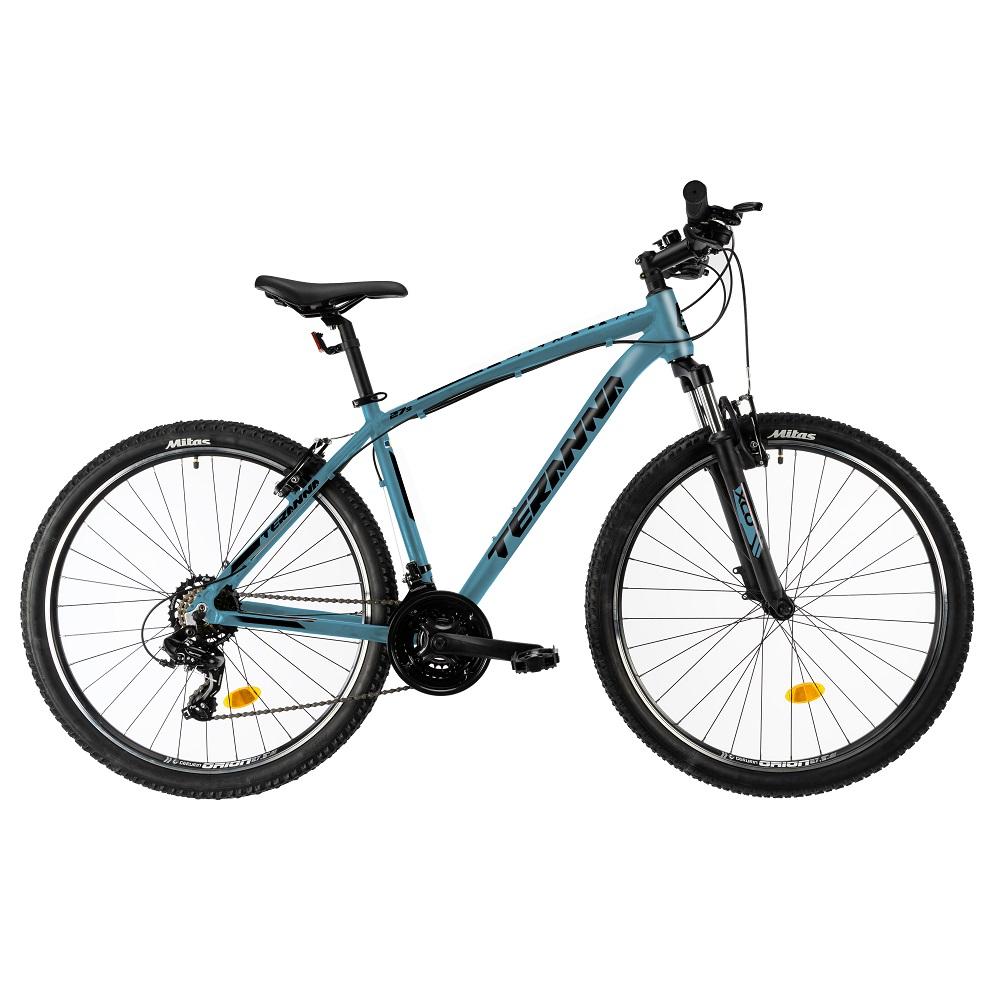 "Horský bicykel DHS Teranna 2723 27,5"" - model 2019 Light Blue - 16,5"" - Záruka 10 rokov"