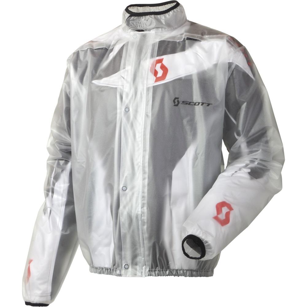 15a1a79609 Moto pláštenka SCOTT Rain Coat číra - 3XL (60)