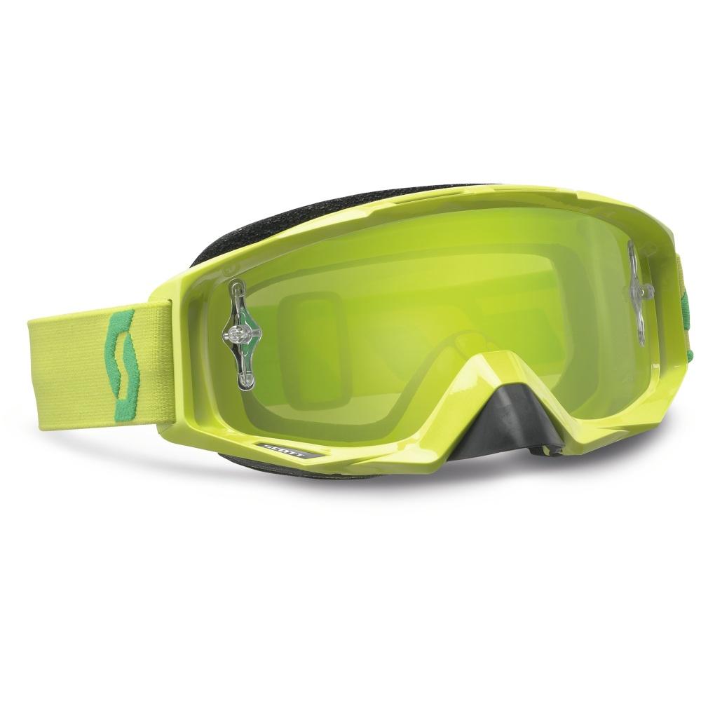 Moto okuliare SCOTT Tyrant MXV zelená