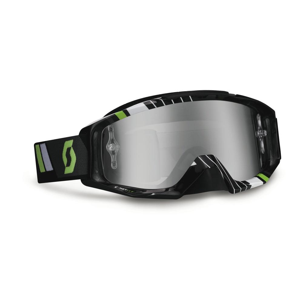 Moto okuliare SCOTT Tyrant MXV čierno-zelená