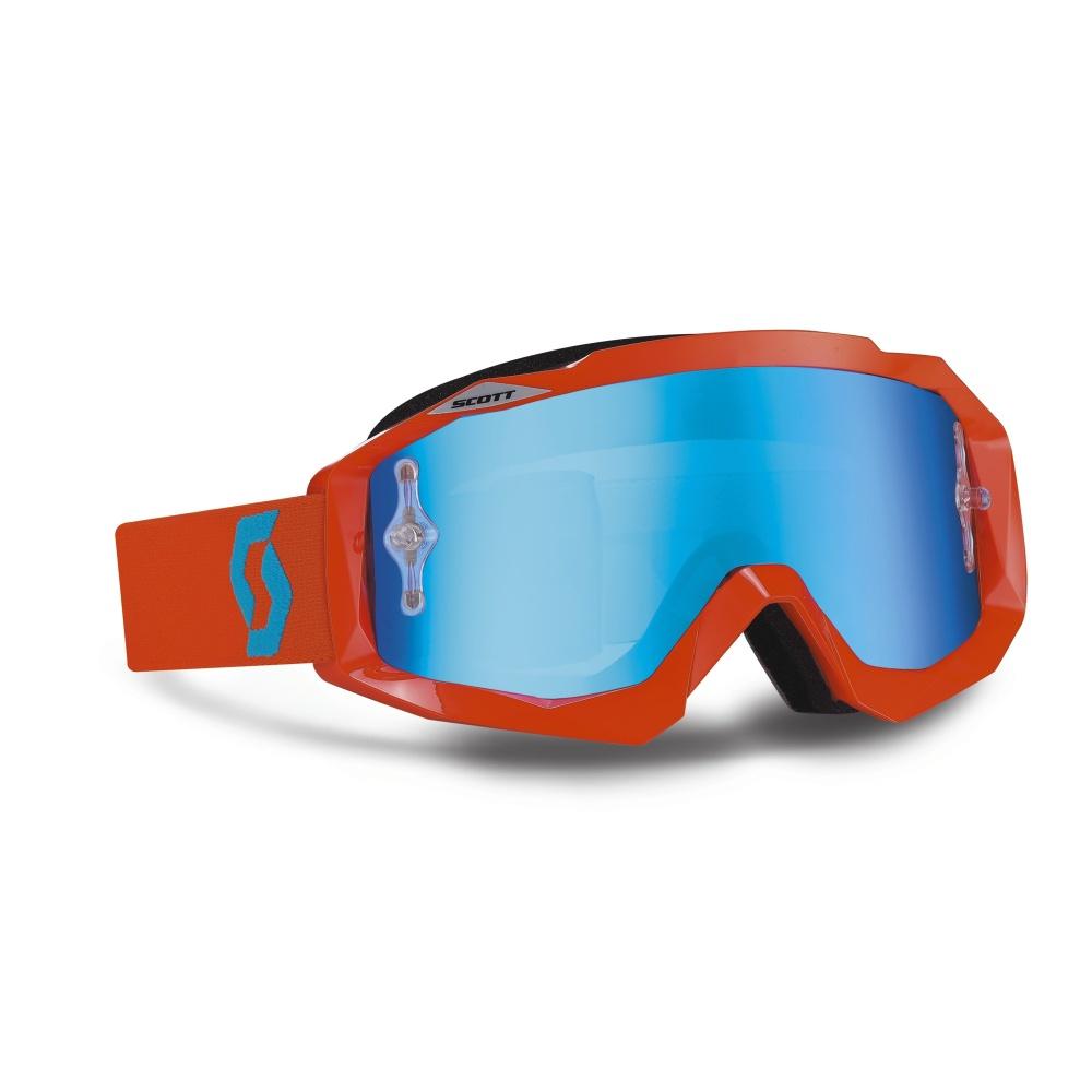 Moto okuliare SCOTT Hustle MXV oranžová