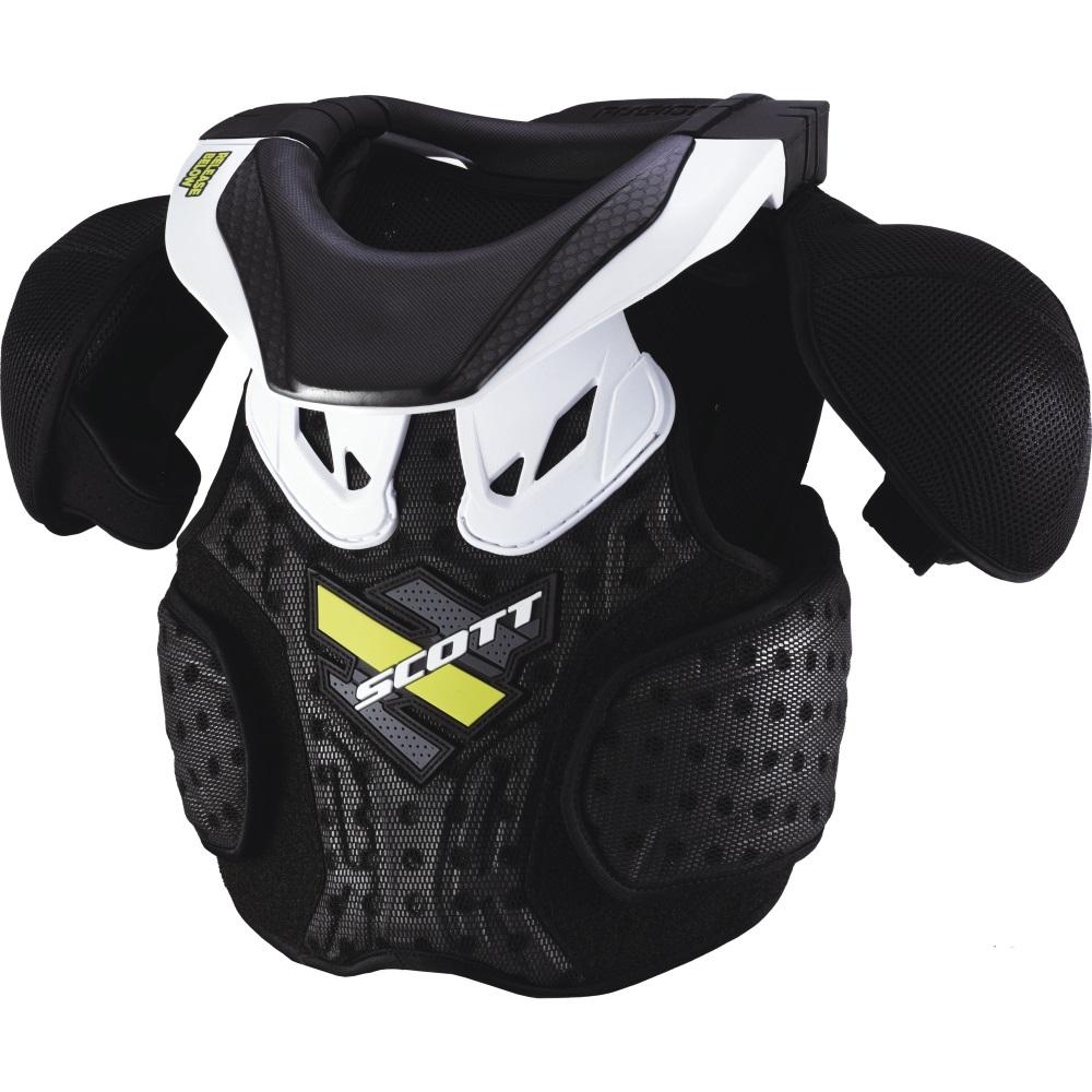 Chránič tela SCOTT Neck Armor Junior čierna - XS