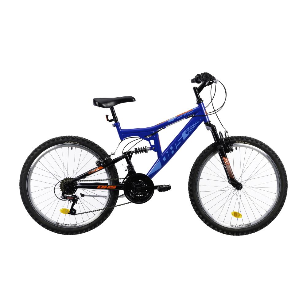 Juniorský celoodpružený bicykel DHS 2441 24