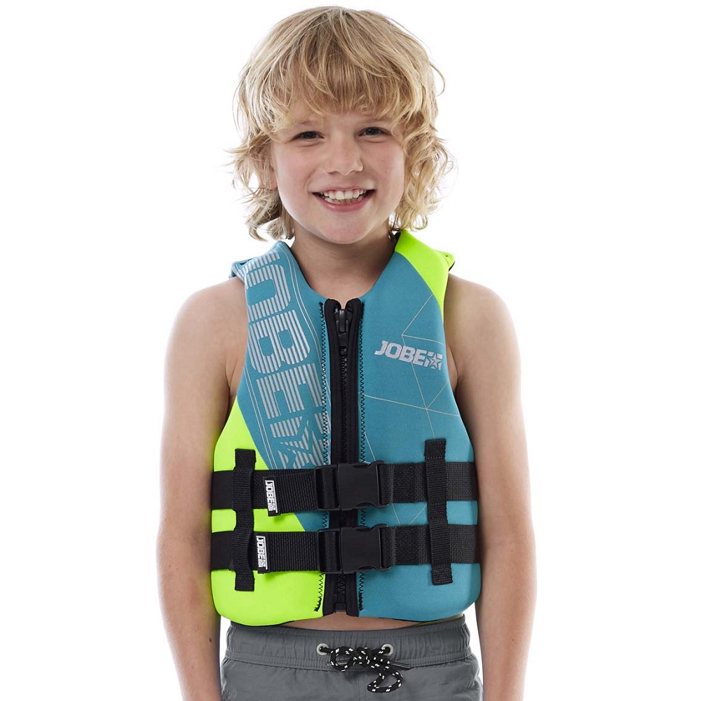 Detská plávacia vesta Jobe Youth Vest modro-zelená - XXXL