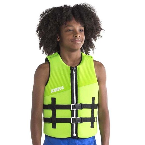 Detská plávacia vesta Jobe Youth Vest 2019 Lime Green - 16