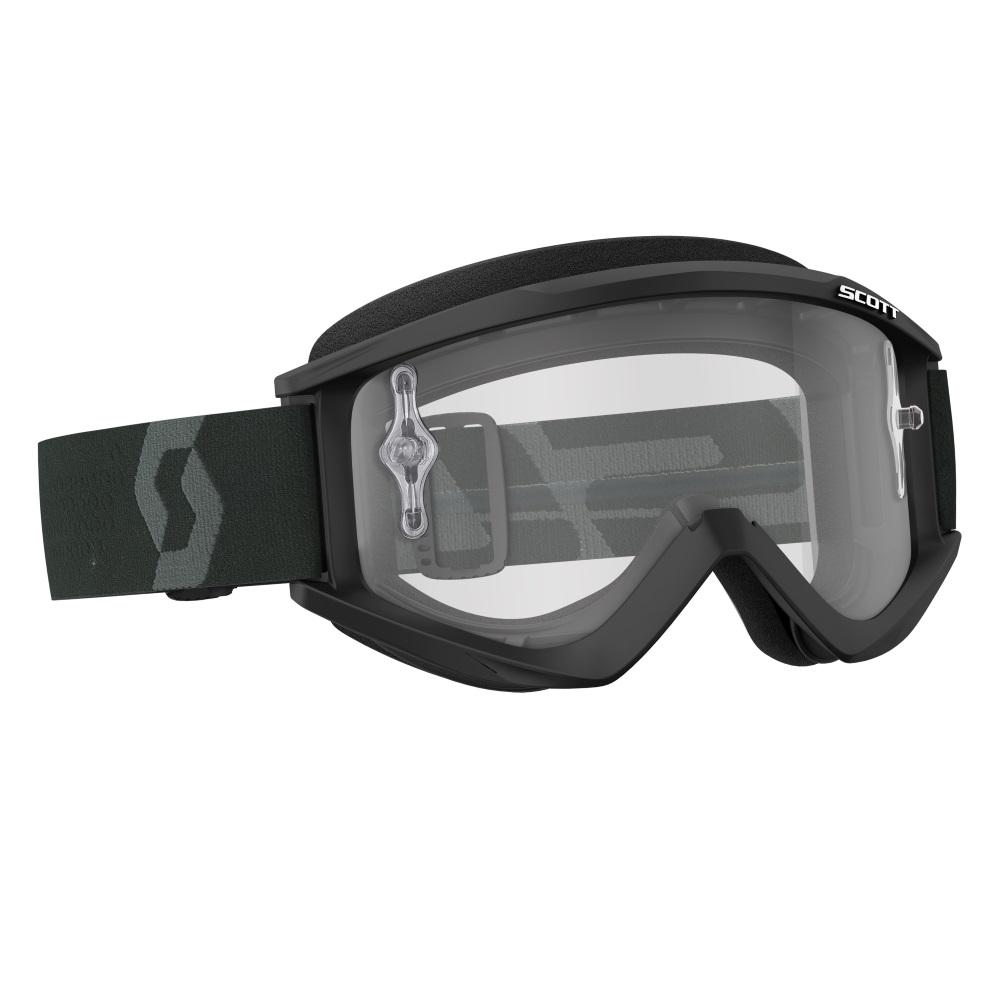 Motokrosové okuliare SCOTT Recoil Xi MXVIII Clear black-white 783122ca92a