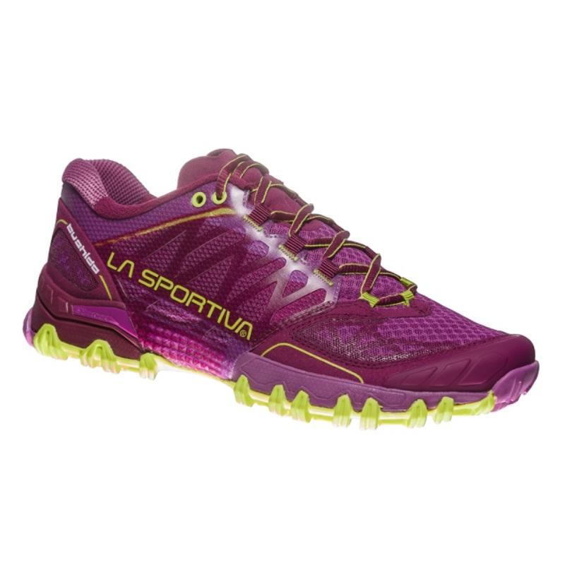 098b68a6ff2f Dámske bežecké topánky La Sportiva Bushido Women - Plum Apple Green