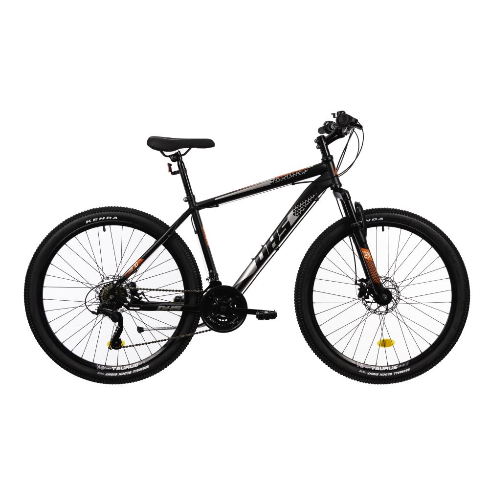 "Horský bicykel DHS 2705 27,5"" - model 2021 Black - 18"" - Záruka 10 rokov"