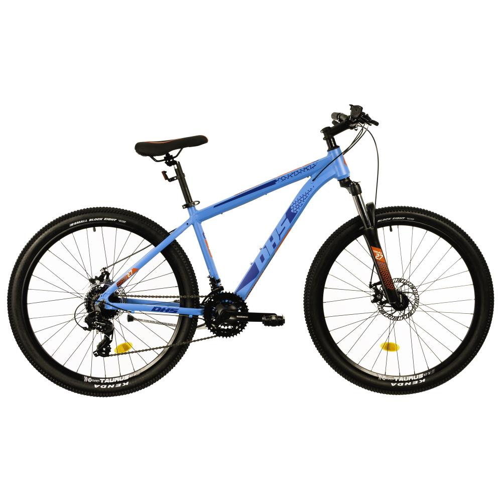 """Horský bicykel DHS Terrana 2725 27,5"""" - model 2021 blue - 16,5"""" - Záruka 10 rokov"""