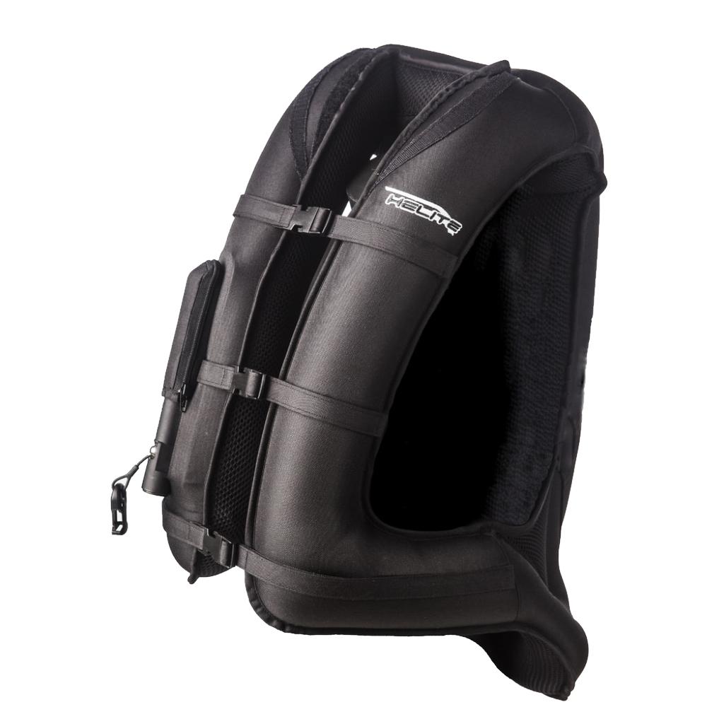 Airbagová vesta Helite Turtle čierna 1 rozšírená čierna - XL