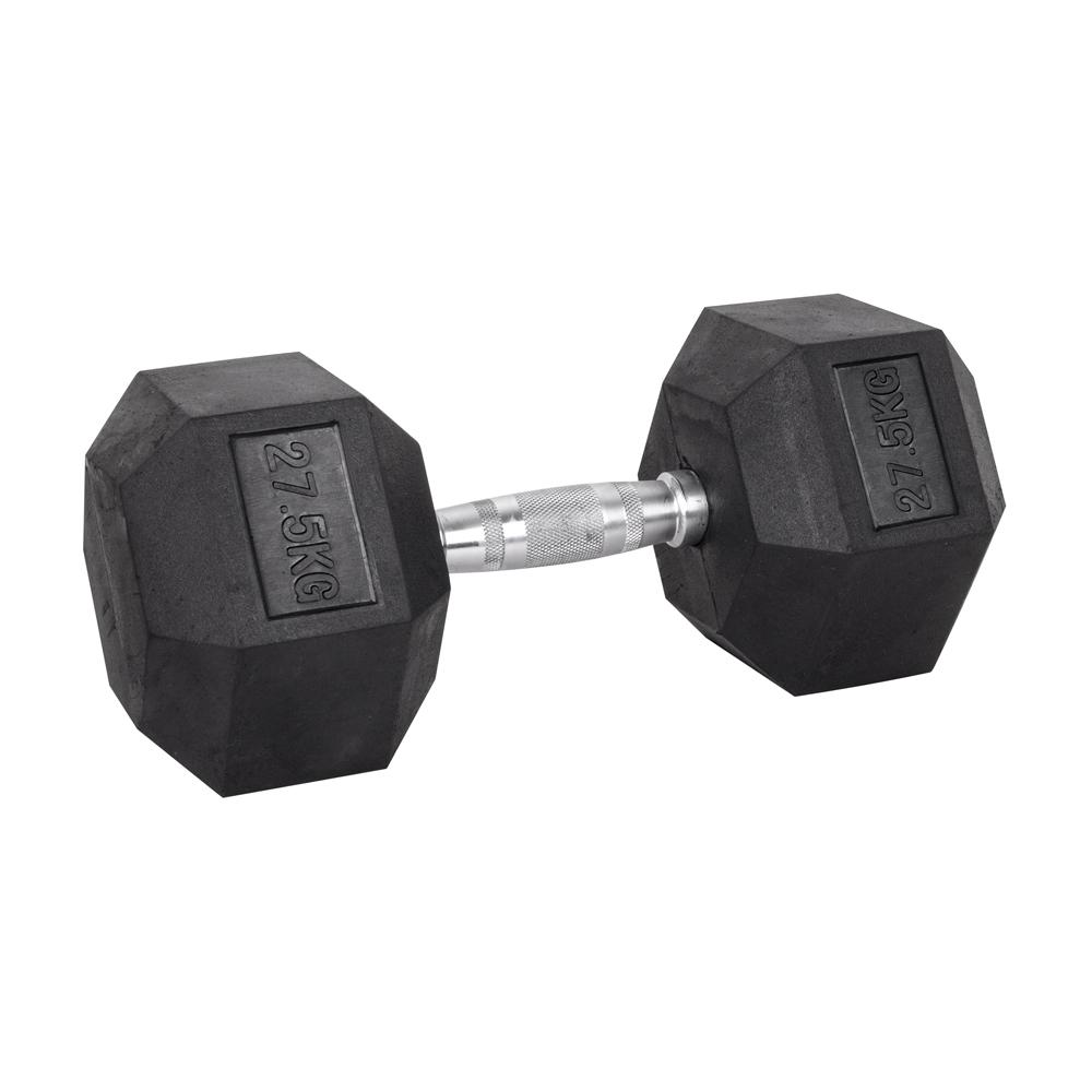 Šesťhranná činka inSPORTline Hexsteel 27,5 kg