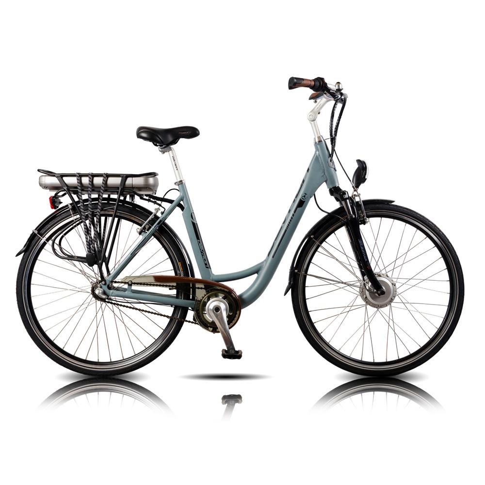 "Mestský elektrobicykel Devron 28120 Matte Grey - 19,5"" - Záruka 10 rokov"