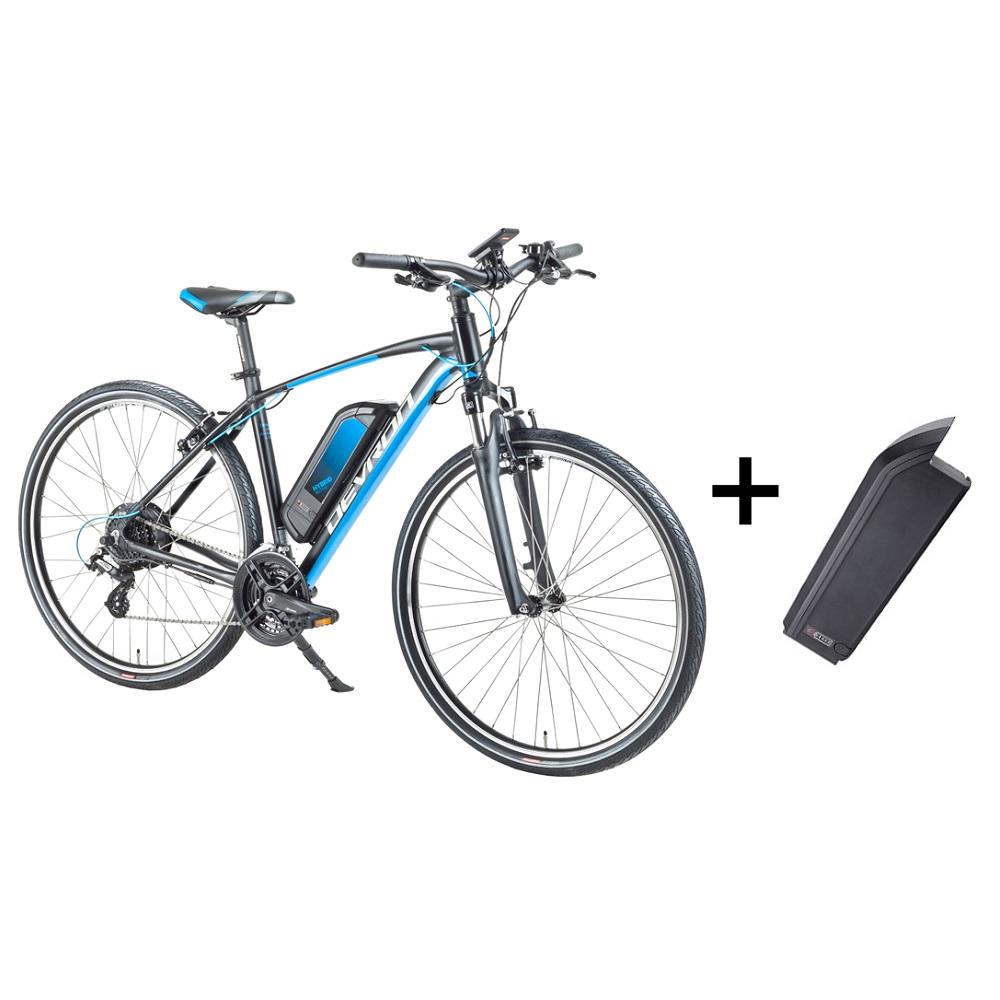 """Crossový elektrobicykel Devron 28161 28"""" s náhradnou batériou 14,5 Ah - model 2018 Black - 19"""" - Záruka 10 rokov"""