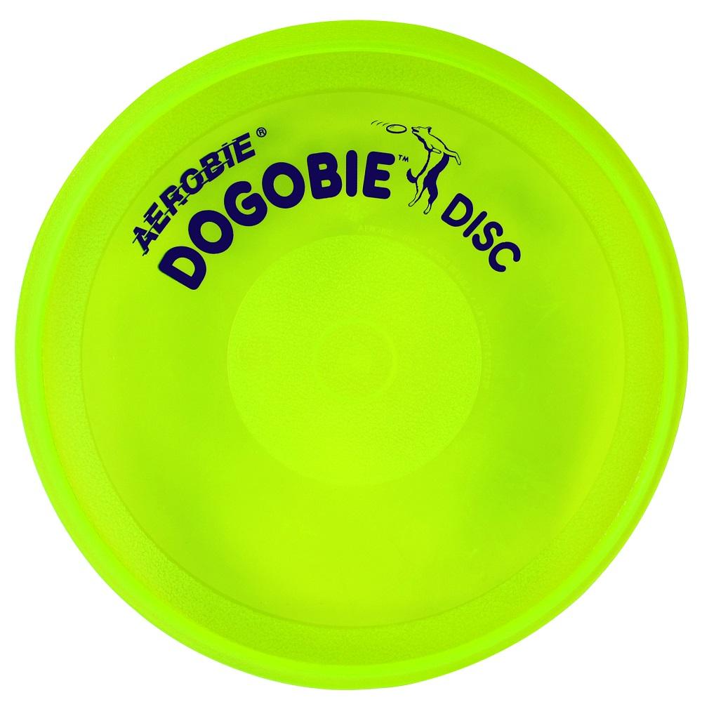 Lietajúci tanier pre psov Aerobie DOGOBIE žltá
